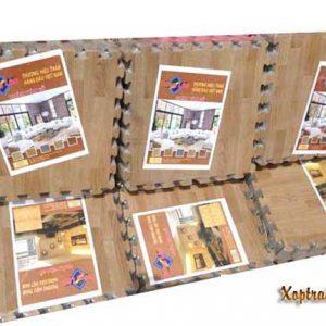 Xốp trải sàn vân gỗ Tường Lâm 40×40