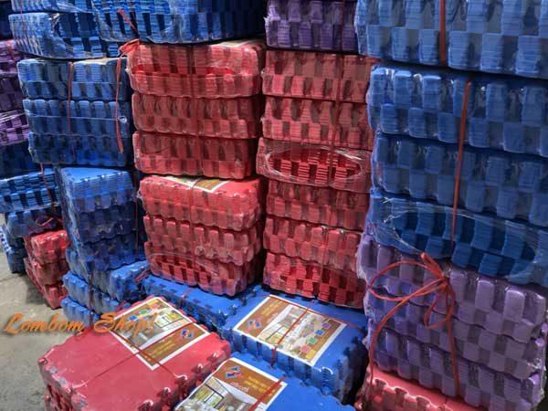 Xốp trải sàn màu Tường Lâm 40×40
