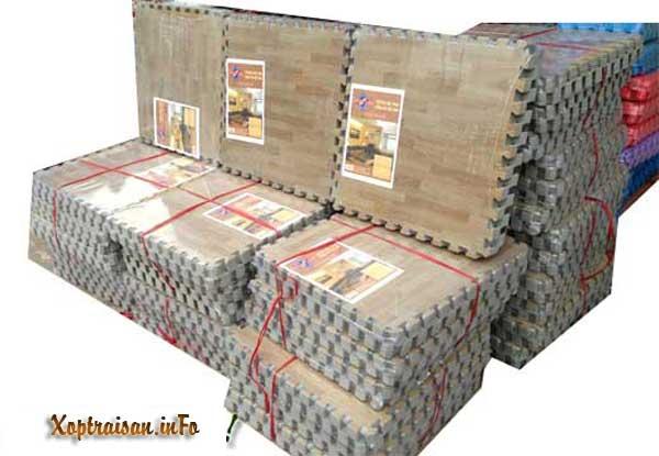 cung cấp thảm xốp trải sàn vân gỗ tường lâm